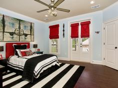 A Floor Show - Focus on Stripes: Fun Decorating Ideas From Rate My Space on HGTV