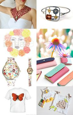 colorful summer  by mira (pinki) krispil on Etsy--Pinned with TreasuryPin.com