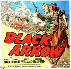 Black Arrow - 1944. #film movie #cinema #posters