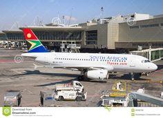 Tambo Airport (Johannesburg International Airport) - Johannesburg, South Africa
