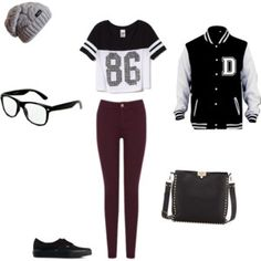 back to school outfits high school black - Google Search