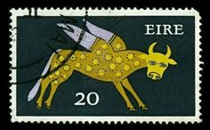 Taurus stamp, Eire, 1979