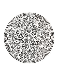 """Coloring Book Mandalas"""", book drawing, coloring book for adults, Printable Coloring Pages (insta Mandala Coloring Pages, Coloring Book Pages, Printable Coloring Pages, Mandala Art, Mandala Pattern, Flower Mandala, Book Flowers, Book Drawing, Shabby Chic"""