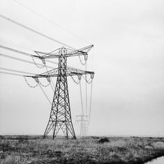 #powerlines in black and white #photo #photography #instagram