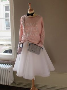 1f080ee6bc5b3781e122dc4b8e6403e20307b406 Waves After Waves, Tulle, Couture, Skirts, Blog, Fashion, Moda, La Mode, Skirt