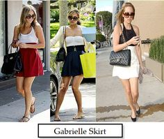 Gabrielle Skirt, from her line. Must Get!!