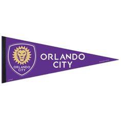 WinCraft Orlando City SC X Premium Quality Pennant for sale online Canada Soccer, Orlando City, Major League Soccer, Art Store, Kingston, Deck, Fandom, Toe, Graphics