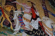 mosaic in the Cinderella Castle breezeway