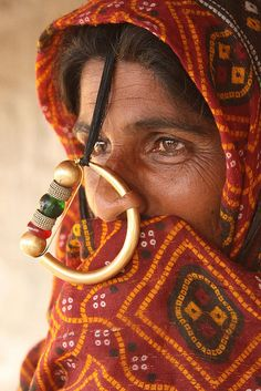 Indian The Jat - one of the hidden tribes in Gujarat (India).