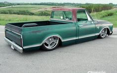 1967 Chevrolet C10 Passenger Side
