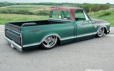 1967 Chevrolet C10 Passenger Side