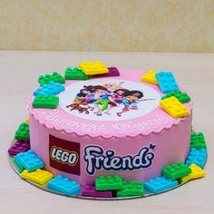 torta lego friends - Buscar con Google Lego Friends Cake, Lego Friends Birthday, Lego Friends Party, Lego Birthday, Birthday Parties, Birthday Cakes, Birthday Ideas, Molly Cake, Cute Kids Crafts