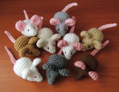 Ravelry: Mini Mouse pattern by Brenna Eaves, $3.50.