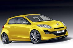 Concept of the RenaultSport Clio released in 2013 Clio Sport, Bus, Travel Tips, Vehicles, Concept, Sweet Cars, Truck, Automobile, Travel Advice