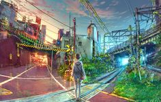 At The Crossroads by yuumei on DeviantArt  (https://yuumei.deviantart.com)