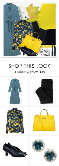 """""""duster"""" by sandevapetq ❤ liked on Polyvore featuring Max&Co., Altuzarra, Gucci and STELLA McCARTNEY"""
