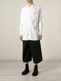 Men - Yohji Yamamoto J-Tie Wrap Trousers - Henrik Vibskov boutique - Online Store