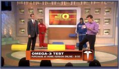 Exciting new blood test, as seen on Dr. Oz & The Doctor! This test measures your Omega 3 Index, a better predictor of heart disease than cholesterol. Wow!