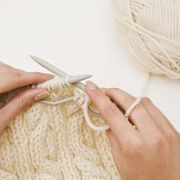 Cable knitting creates detail with texture. Knitting Help, Cable Knitting, Knitting Stitches, Knitting Needles, Knitting Patterns, Giant Knitting, Crochet Patterns, Cable Knit Blankets, Cable Knit Throw