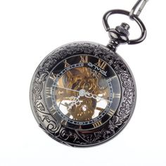 I love the steampunk Victorian style of this watch. I so want it!