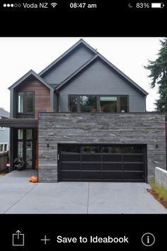 Modern australian farm house with passive solar design for Design moderno garage indipendente