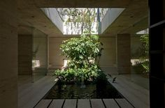 13 Stunning Inner Courtyards,Spa Querétaro / Ambrosi I Etchegaray . Image © Luis Gordoa