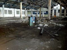 Dead factory Pragovka in Prague