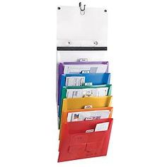 The Container Store > Cascading Letter File Tote (thinking of homework organization ideas)
