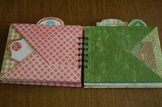 Triple Pocket Mini Scrapbook