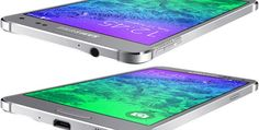 The Galaxy Alpha is officially the most beautiful phone ever made.