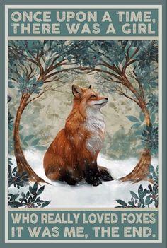 Illustrations, Illustration Art, Fuchs Tattoo, Fox Art, Framed Wall Art, Vintage Posters, Canvas Frame, Cute Animals, Poster Prints