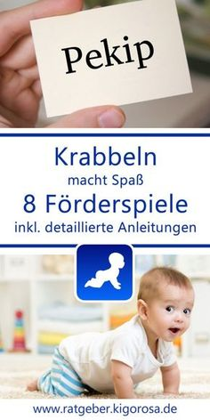 Gentle promotion options for your baby: games & toys Krabbelnlernen - Regular Baby Feeding Baby Toys, Baby Baby, Diy Bebe, Bulletins, Baby Care Tips, Baby Development, Baby Arrival, Baby Games, Baby Kind