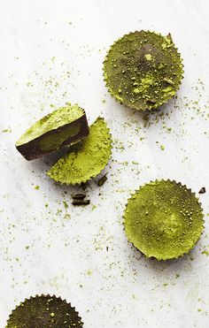 Matcha Coconut Butter Cups #japaneasy #matcha
