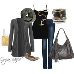 Simple Weekend, created by orysa on Polyvore