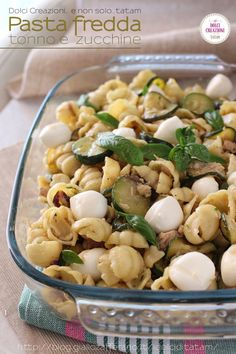 No Salt Recipes, Light Recipes, Pasta Recipes, Cooking Recipes, Healthy Recipes, Cold Meals, How To Cook Pasta, Pasta Salad, Italian Recipes