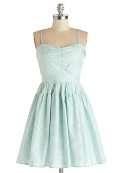 Take a Spin Dress in Green, #ModCloth, so far all are either up to large...size 14 - 16 in nz or uk 14 -16, :)