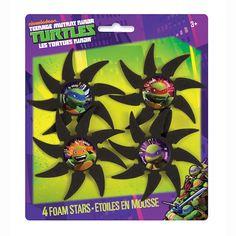 Foam Teenage Mutant Ninja Turtles Stars