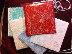 HOT PINK, PASTEL GREEN, BABY BLUE, WHITE, OFF WHITE VICTORIAN LACE BOOT CUFFS  #HANDMADE