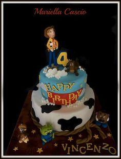 toy story cake  Cake by Mariella Cascio