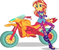 Sunset Shimmer - ready for the Friendship Games!! #MLPEG #FriendshipGames