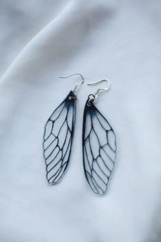Fairy Wing Earrings Dragonfly Earrings by JoellesEmporium on Etsy