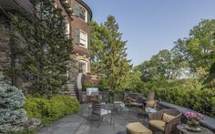 Steps from a train into Manhattan, a relaxed luxury lifestyle awaits at the Bronxville home built for Elizabeth Custer (the famed general's widow).