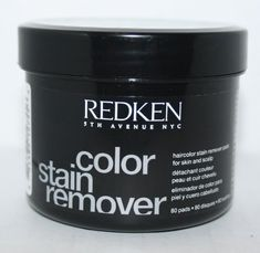 REDKEN Haircolor Stain Remover Pads for skin and scalp * See this great product. (This is an affiliate link and I receive a commission for the sales) Hair Color Remover, Hair Color Caramel, How To Make Hair, Sensitive Skin, Shampoo, Hair Care, Haircolor, How To Remove, Personal Care