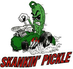 Skankin Pickle / Hot Rod T/S - PUNK MART