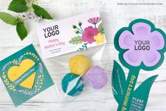 Show appreciation and brand values this Mother's Day with these plantable giveaways that give and grow wildflowers. Mothers Day Logo, Mother's Day Promotion, Feeling Appreciated, Seed Paper, Green Business, Eco Friendly Paper, Flower Shape, Memorable Gifts, Cute Cards