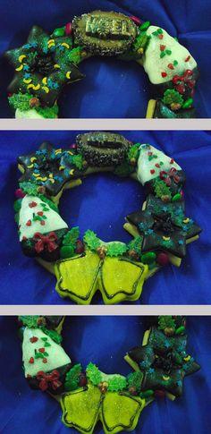 Dolci Natalizi per allergare le feste!!    Christmas Cookies By Pasticceria La Via Dolce in Jerzu Sardinia...