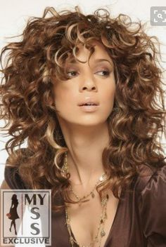 Great cut for curly layers!