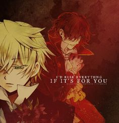 Pandora Hearts (kyaaaaaaaa Ozbert is my favorite thing in life, no exaggeration)