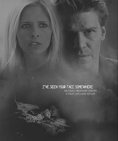 """Buffy and Angel my favorite """"old"""" show. <3"""