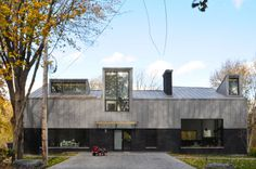 Crisan House Salaberry-de-Valleyfield, Canada FIRM. Est Architecture #architecture